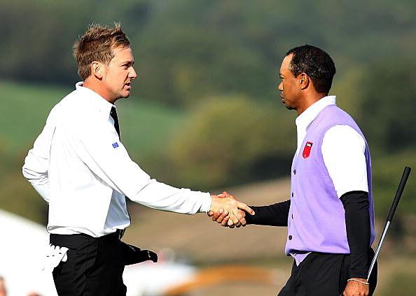 Tiger Woods Poulter