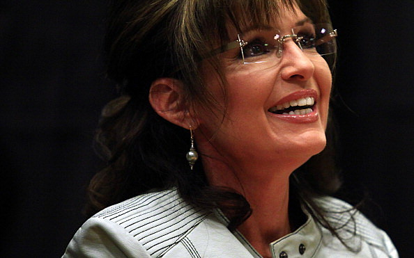 Sarah Palin Launches New Book Tour In Phoenix