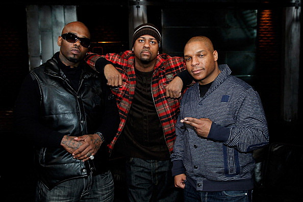 Naughty By Nature Visits fuse Studios