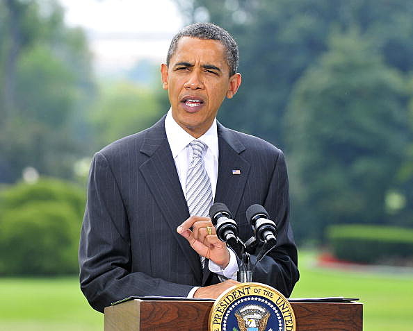 President Obama Makes Statement On The Economy