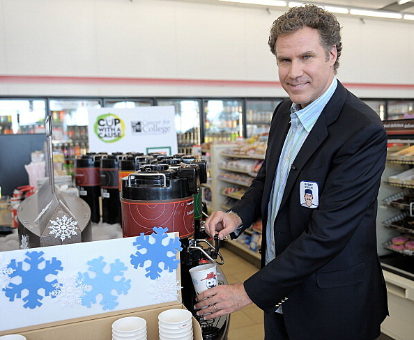 "Will Ferrell Designs Limited Edition Coffee Cup for 7-Eleven ""Coffee Cup With A Cause"""