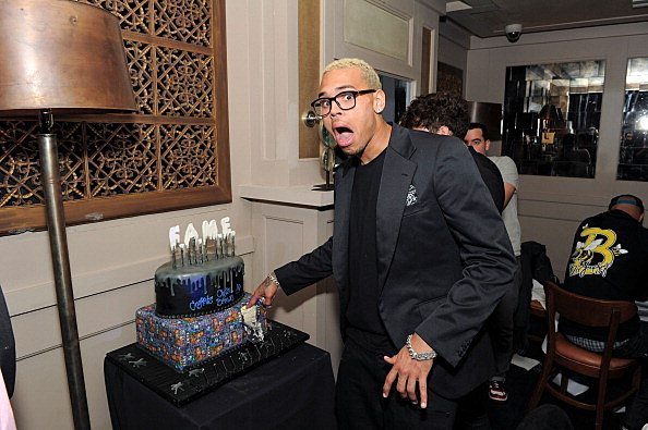 "Chris Brown's ""F.A.M.E."" Album Release Dinner"