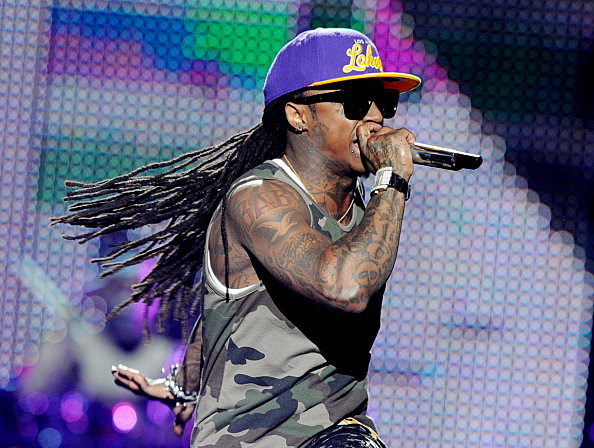 "Lil Wayne Performs His ""I Am Still Music"" Tour At The Staples Center"