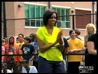 ABC News Michelle Obama Dance