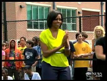 ABC News Michelle Obama Dance