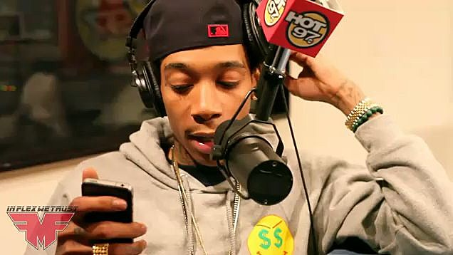 YouTube - Wiz Khalifa Freestyle On Hot 97!