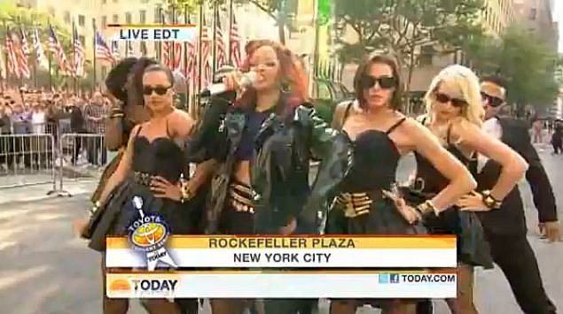 YouTube - Rihanna - S&M On the Today Show
