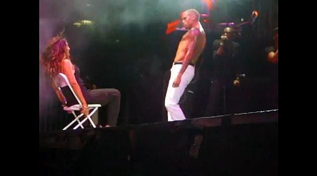 YouTube - Chris Brown Gives A Girl A Lap Dance