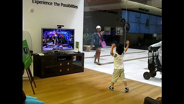 YouTube - Kid playing Dance Central Disturbia on Hard