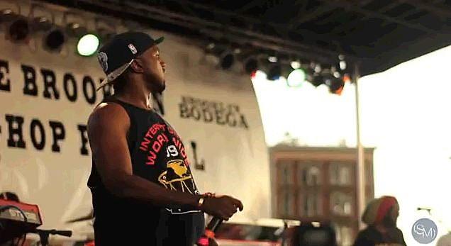 Kanye and Q-Tip