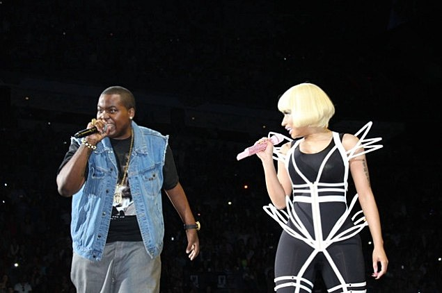 Sean Kingston and Nicki-Minaj