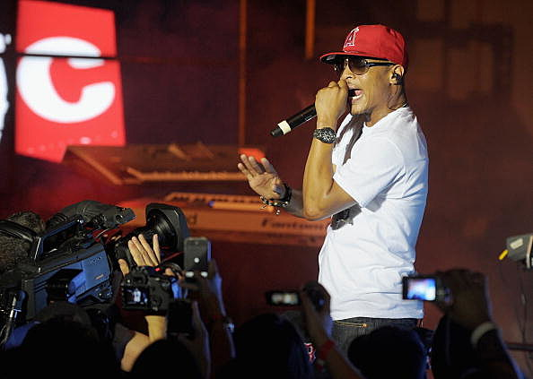 T.I. Performs in New York City