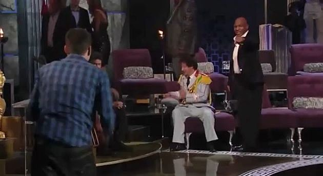 Steve-O And Mike Tyson