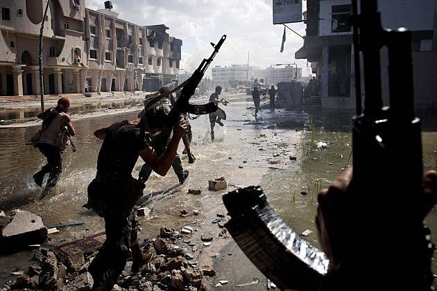 Interim Authority Forces Target Sirte