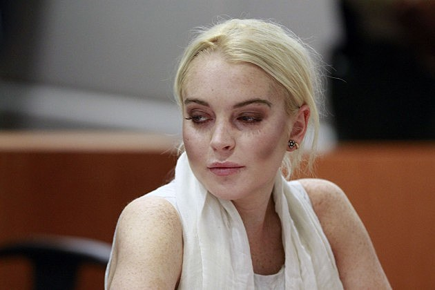 Lindsay Lohan Progress Report Hearing
