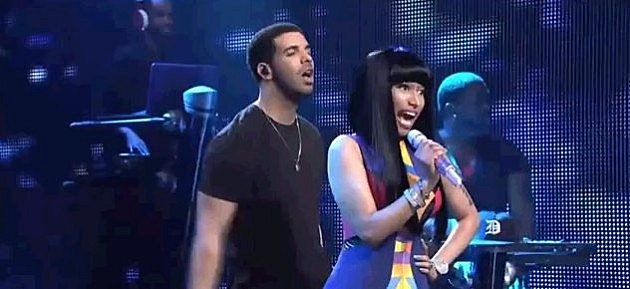 Drake And Nicki On SNL