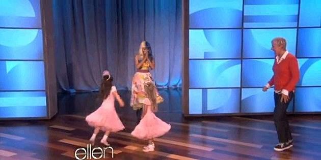 Nicki On Ellen