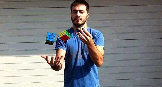 Rubiks Juggler