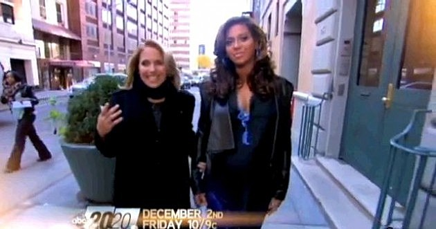 Beyonce Katie Couric