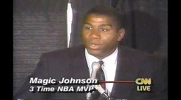20 Years Ago Today Magic Johnson Announced He Was HIV ...Magic Johnson Aids