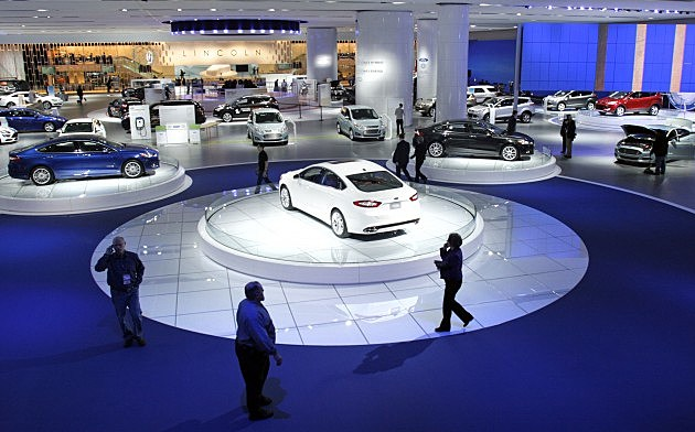 North American Int'l Auto Show Features Latest Car Models From Around The World