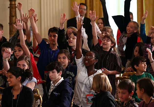 Michelle Obama Hosts Take Our Daughters And Sons To Work Day Event