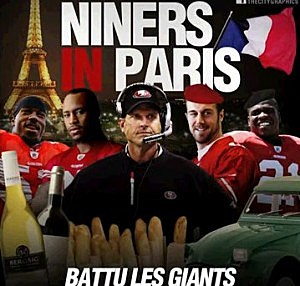 Niners In Paris
