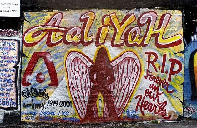 Aaliyah Mural