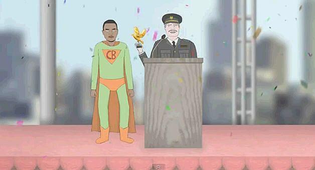 Chris Brown Superhero