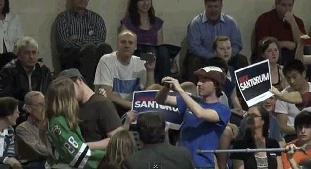 Kissing Santorum