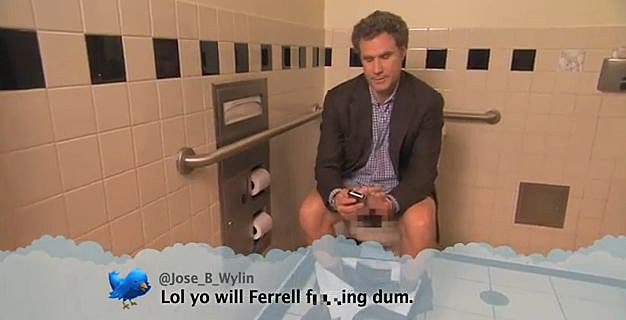 Will Ferrell Toilet