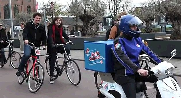 Dominos Pizza Scooter