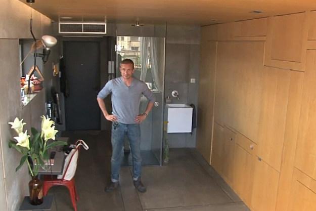 Christian Shallert's tiny luxury apartment