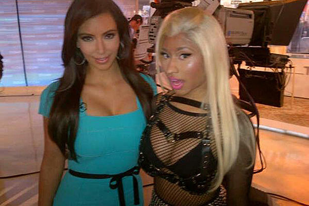 Kim Kardashian and Nicki Minaj
