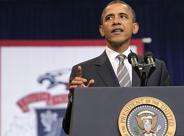 President Obama Delivers Commencement Address At Joplin High School