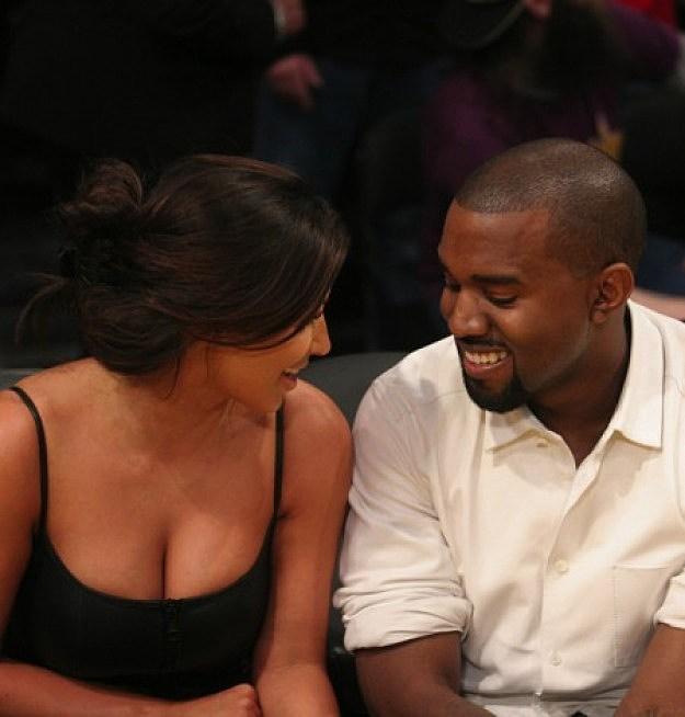 Kanye West Kardashian lakers