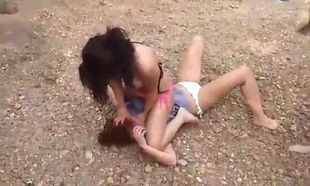 bikini fight mma
