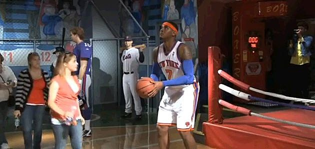 Carmelo Anthony Wax