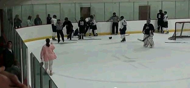 Hockey Fight Mom