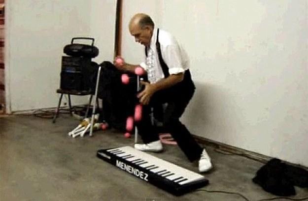 Juggling Dan Menendez