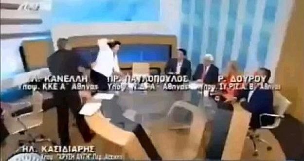 Politicians Fight