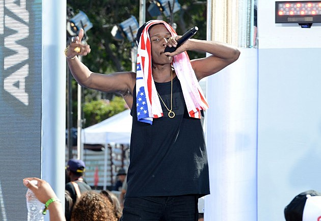 A$AP Rocky busted in NYC after punching photog