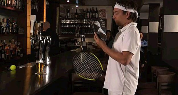 Fallon Federer At The Bar