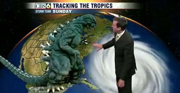 Godzilla Weather