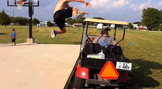 Golf Cart Jump