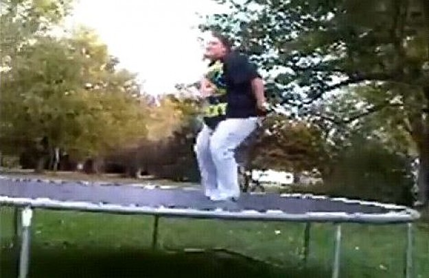 Trampoline Break
