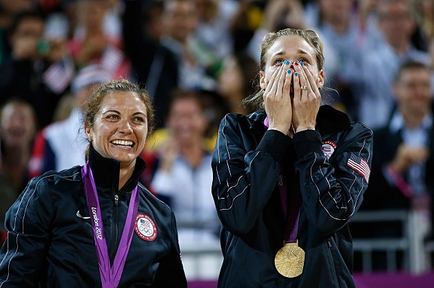 Gold Medal Winners Cry