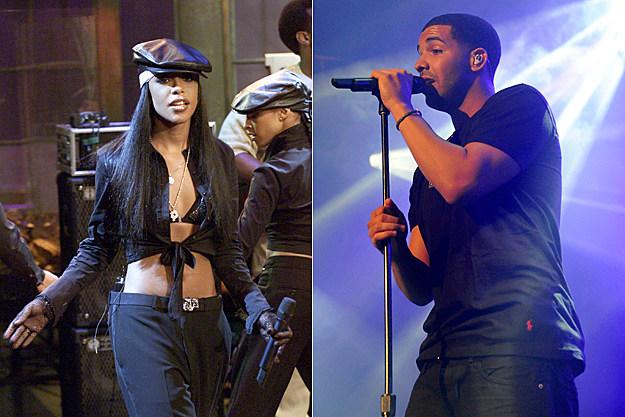 Aaliyah And Drake