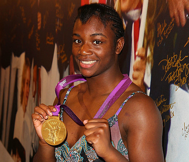 Claressa Shields Gold Medal