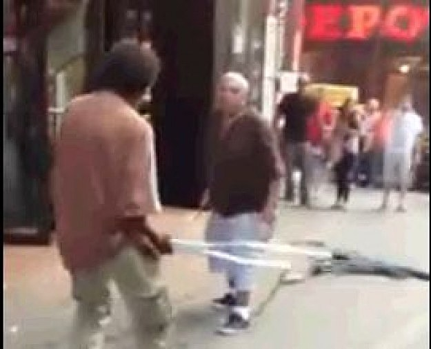 Crutch Fight